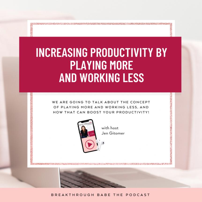 Increasing Productivity