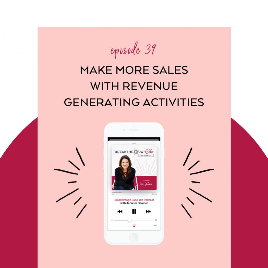making more sales