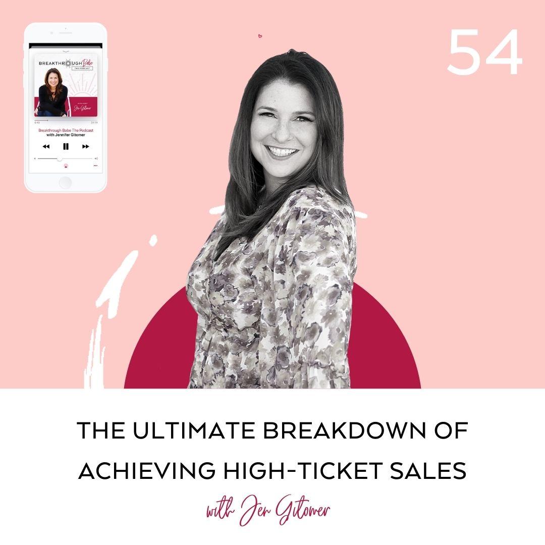 high-ticket sales