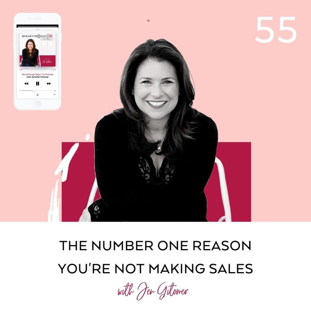 making sales